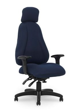 Picture of Big & Tall Executive High Back Multi Function Headrest Office Chair