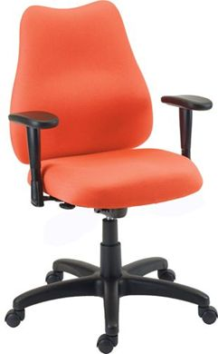 Picture of Managerial Mid Back Office Task Swivel Arm Chair