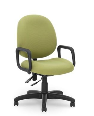 Picture of Contour Seat Office Task Swivel Arm Conference Chair