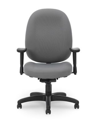 Picture of Contour Seat Office Task High Back Swivel Arm Chair