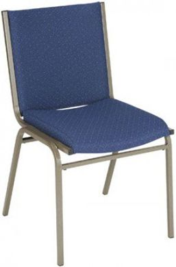 Picture of Metal Frame Stack Chair with Padded Seat