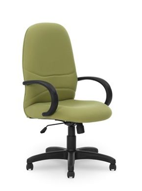 Picture of Conference High Back Office Swivel Chair with Loop Arms