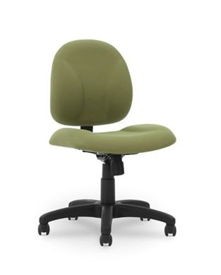Picture of Ergonomic Low Back Swivel Office Task Armless Chair