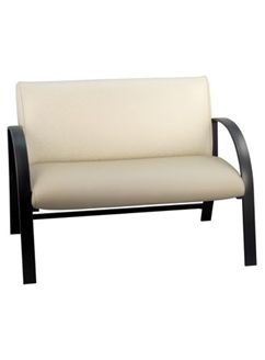 Picture of Contemporary Reception Lounge 2 Person Loveseat Chair