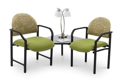Picture of Heavy Duty Reception Stack Arm Chairs