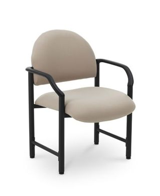 Picture of Heavy Duty 400 Lbs Bariatric Reception Side Arm Chair