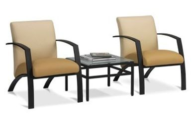 Picture of Contemporary and Stylish Reception Lounge Arm Chairs