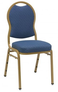 "Picture of Banquet Café Stack Chair with 3"" Upholstered"