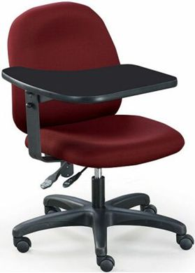 Picture of Multi Function Office Task Tablet Arm Swivel Chair