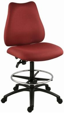 Picture of Multi Function 350 LBS Footring Drafting Armless Stool Chair
