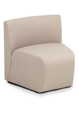 Picture of Modular Tandem Reception Lounge Wedge Single Seat Chair
