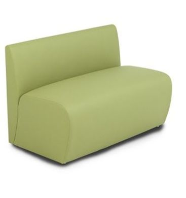Picture of Modular Tandem Reception Lounge Loveseat Armless Chair