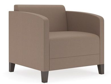 Picture of Contemporary Reception Lounge Club Arm Chair Sofa, 500 LBS.