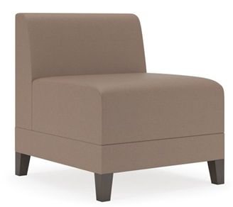 Picture of Contemporary Reception Lounge Armless Club Chair Sofa