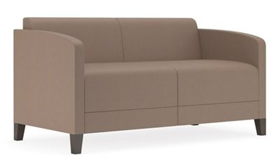 Picture of Contemporary Reception Lounge Loveseat Chair Sofa
