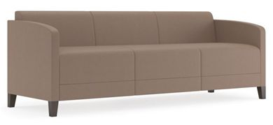 Picture of Contemporary Reception Lounge Modular 3 Seat Sofa with Arms