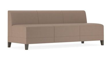 Picture of Contemporary Reception Lounge Modular 3 Seat Armless Sofa