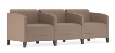 Picture of Contemporary Reception Lounge Modular 3 Seat Tandem Seating