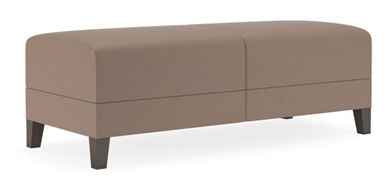 Picture of Contemporary Reception Lounge Modular 2 Seat Tandem Bench Seating