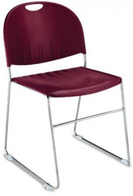 Picture of Armless Guest Chair With Contoured Seat and Back