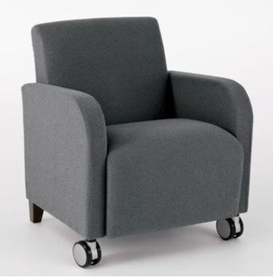 Picture of Heavy Duty Reception Lounge Mobile Club Chair Sofa, 400 LBS.