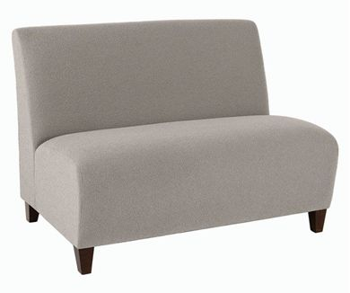 Picture of Heavy Duty Reception Lounge 2 Seat Armless Loveseat Sofa