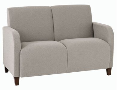 Picture of Heavy Duty Reception Lounge 2 Seat Loveseat Sofa