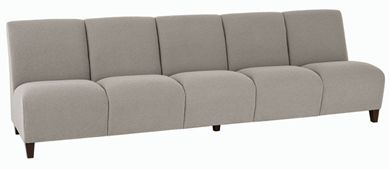Picture of Heavy Duty Reception Lounge 5 Chair Tandem Modular Sofa Seating