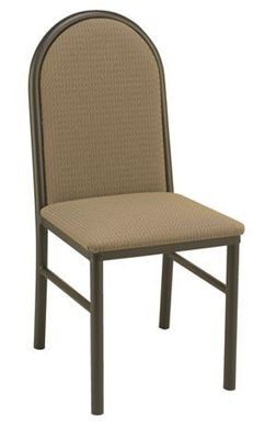 "Picture of Banquet Café  Armless Chair with 2""  Upholstered Seat,400LBS"