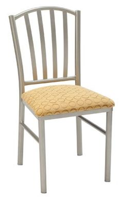 "Picture of  Banquet Café Armless Chair with 2"" Upholstered Seat"