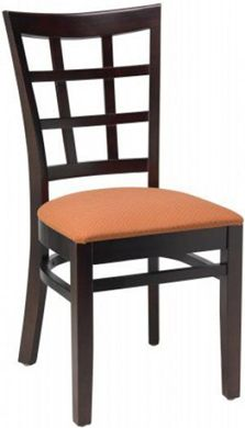 "Picture of Café Hardwood Armless  Chair With 2"" Upholstered Seat, 400 LBS."
