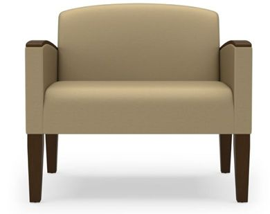 Picture of Wood Cap Reception Lounge Bariatric Chair, 750 LBS.