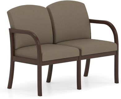 Picture of . Reception Lounge Transitional 2 Seat Modular Tandem Seating