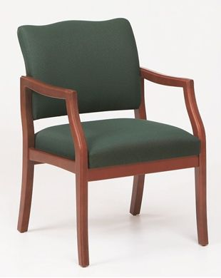 Picture of / Reception Lounge Traditional Wood Arm Guest Chair