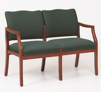 Picture of / Reception Lounge Transitional 2 Chair Modular Tandem Seating