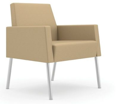 Picture of Lounge Reception Heavy Duty Contemporary Guest Chair, 350 LBS.