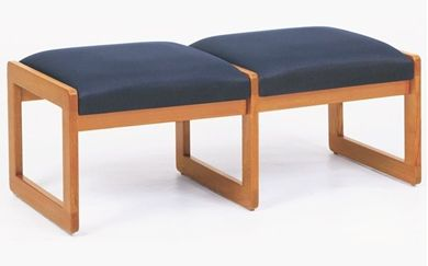 Picture of Bench Seating Backless 2 Seat Lounge Sled Base