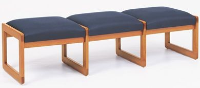 Picture of Bench Seating Backless 3 Seat Lounge Sled Base