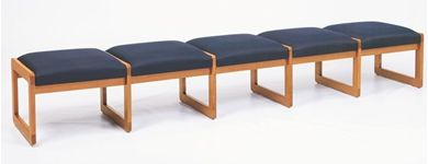 Picture of Bench Seating Backless 5 Seat Lounge Sled Base