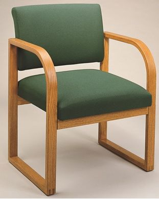 Picture of * Sled Base Reception Lounge Contemporary Guest Arm Chair