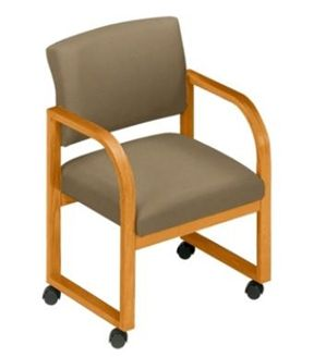 Picture of * Sled Base Reception Lounge Mobile Contemporary Guest Arm Chair