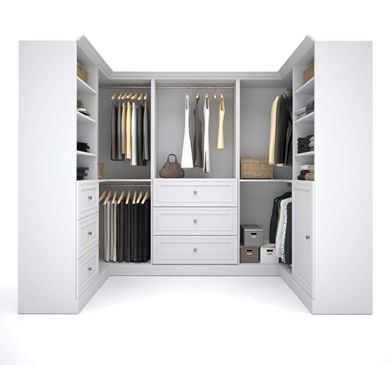 Picture of  108'' Open Shelf Corner Kit In White