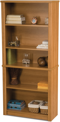 Picture of  Adjustable Open Shelf Bookcase