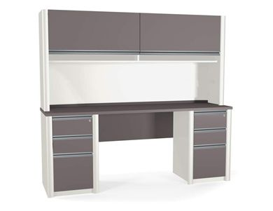 Picture of  Contemporary Credenza With Hutch,Pedestal And Drawers