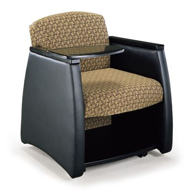Picture of Reception Lounge Mobile Tablet Arm Club Chair