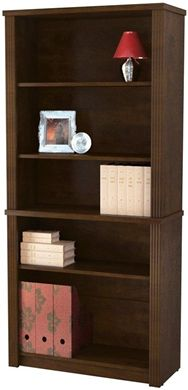 Picture of  Modular 5 Shelf Bookcase with Adjustable Shelves