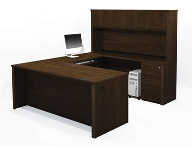 Picture of U-Shaped Workstation With Pedestals And Drawers