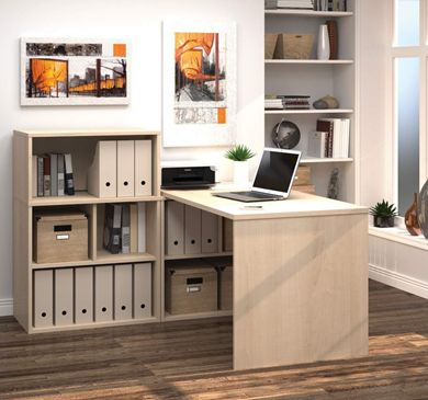 """Picture of 30"""" X 60"""" L-Shaped Desk"""