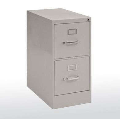 Picture of 2 Drawer Steel Vertical File, Locking
