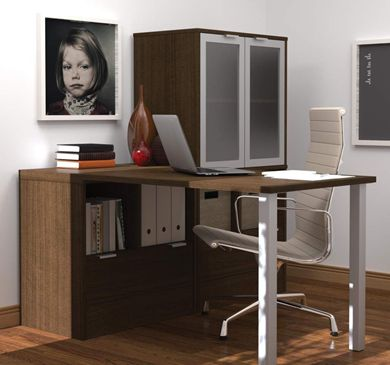 """Picture of 30"""" X 60"""" L-Shaped Desk With Drawers"""